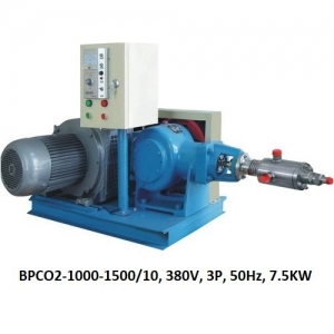 Bơm piston CO2 lỏng 1500kg/h. 10MPA